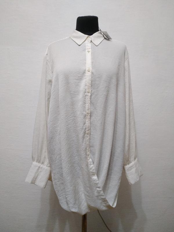 Стильная элегантая блуза большого размера