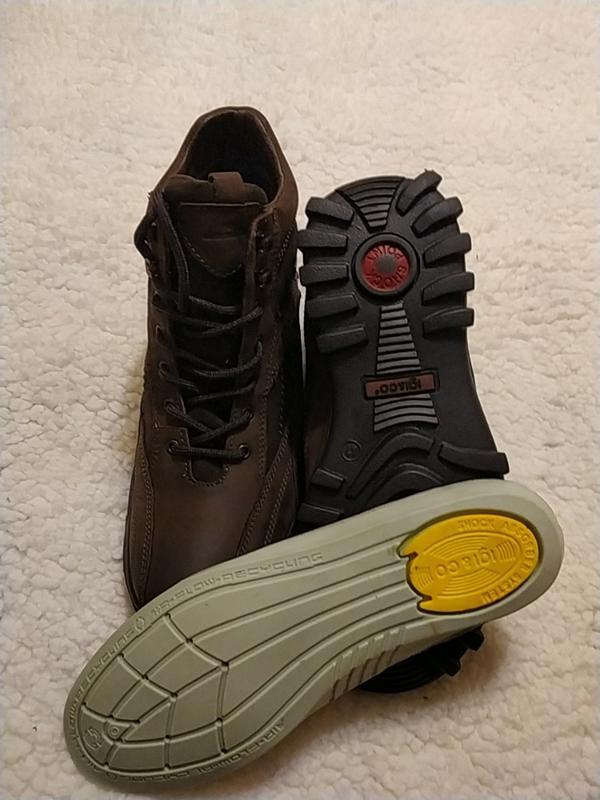Мужские кожаные ботинки, италия - Фото 6