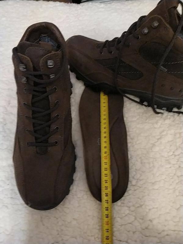 Мужские кожаные ботинки, италия - Фото 7