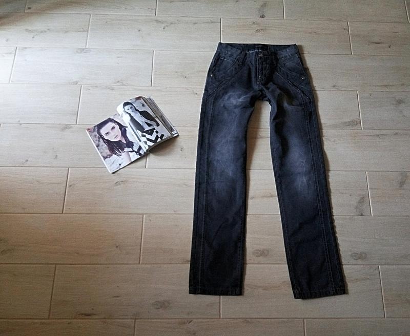 Плотные мужские джинсы прямые р. m 29