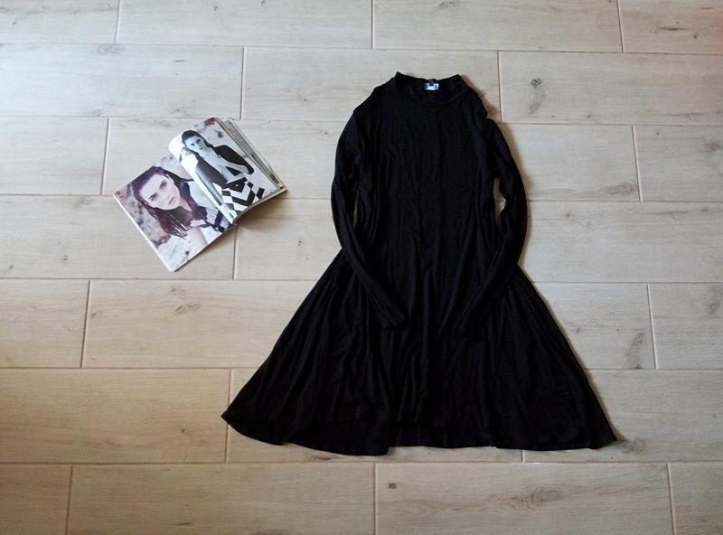 Платье свободного кроя трапецией р. m l 10 12