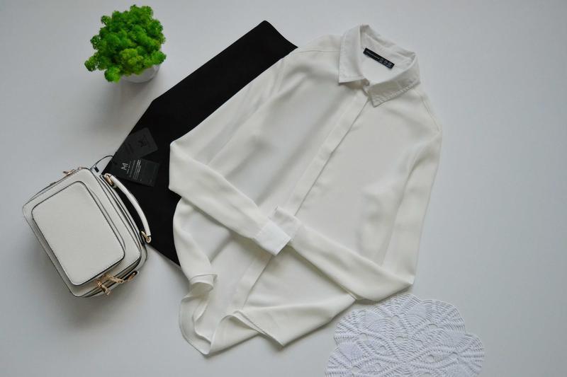 Блуза молочного кольору atmosphere