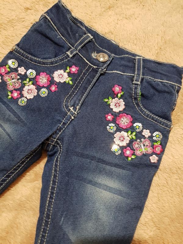 Утепление джинсы на девочку, штаны на меху