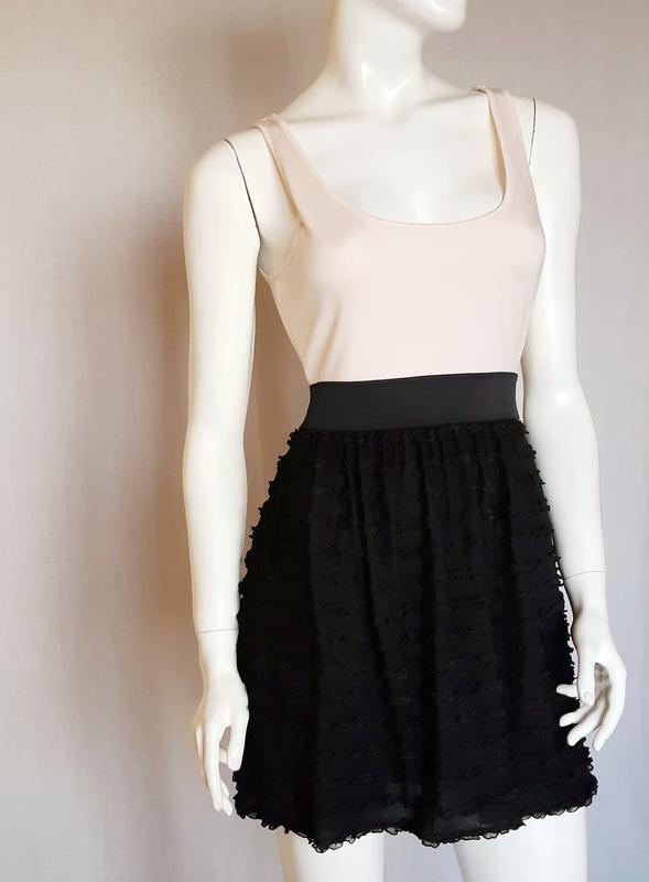 Стильное комбинированное платье h&m