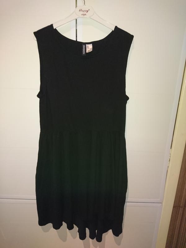 Черное платьеh&m