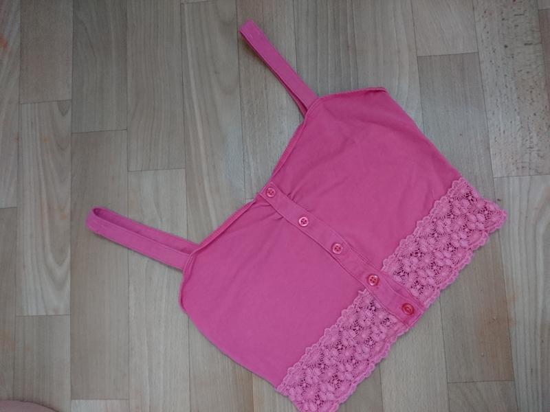 Топик розовый