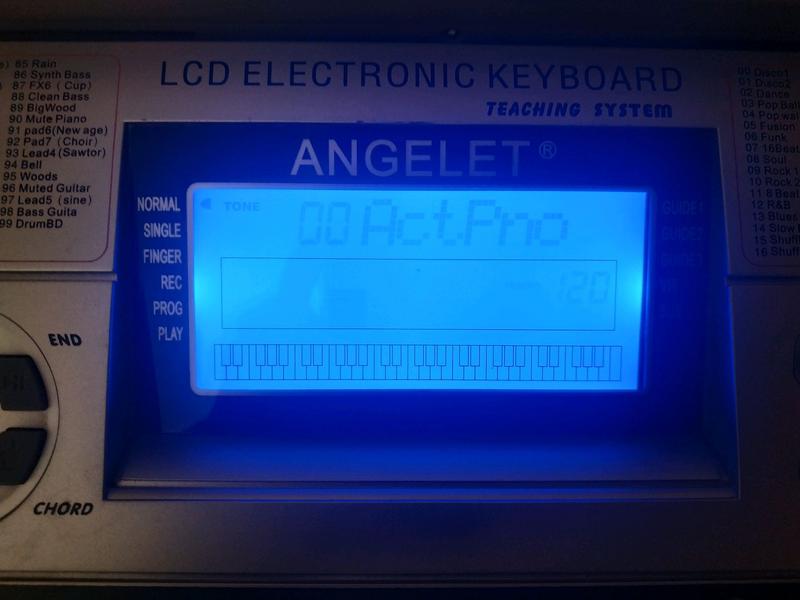Angelet xts 6080, синтезатор - Фото 3