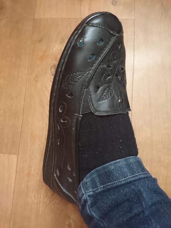 Черные женские туфли 37 рр