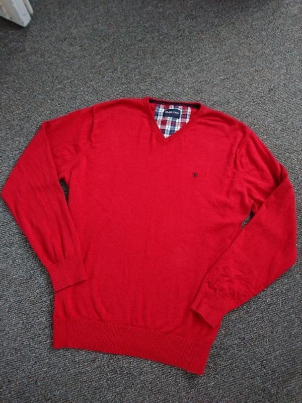 Джемпер, свитер красный