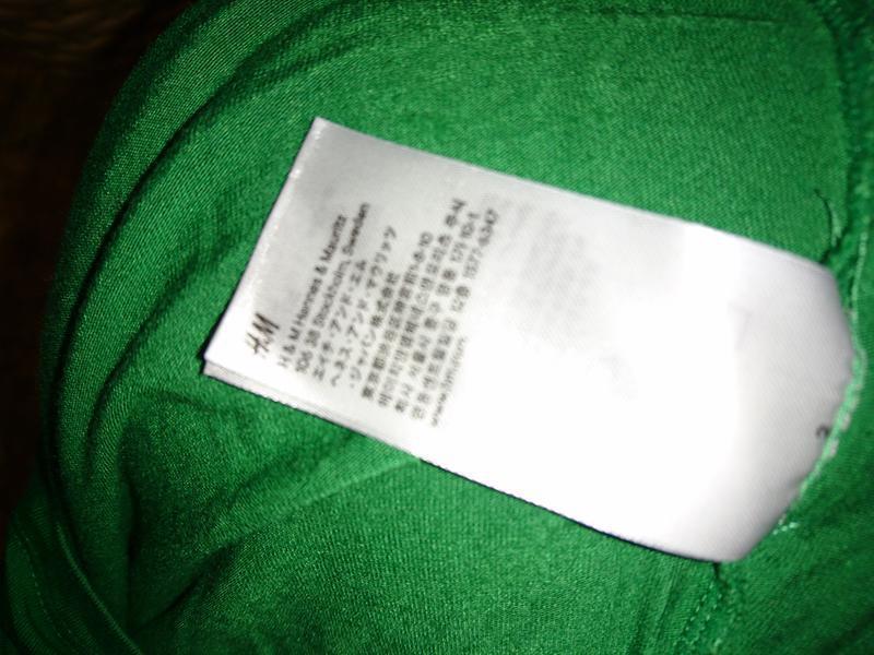 Шикарныйй зеленый гольфик с коротким рукавом h&m - Фото 5