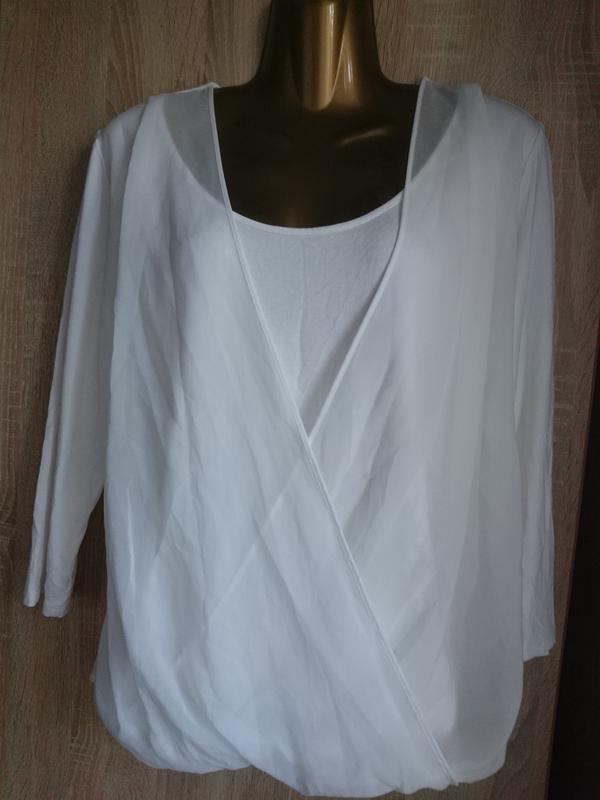 Блузочка белая