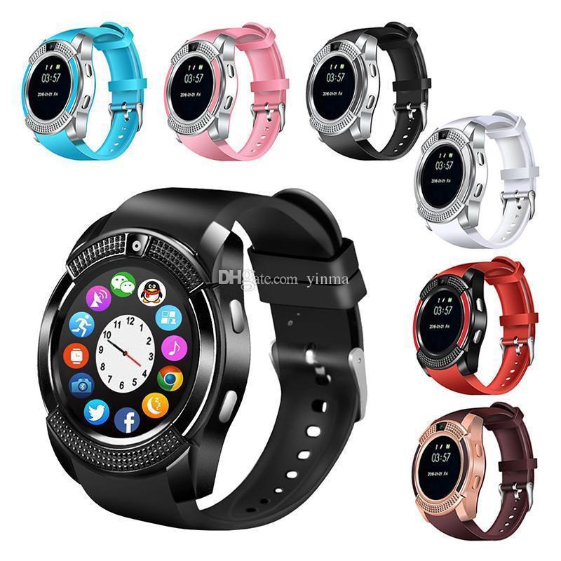 Сенсорные Smart Watch V8 смарт часы умные часы
