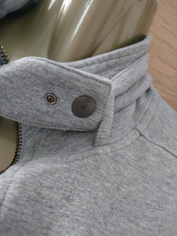 Женская кофта на молнии. олимпийка - Фото 7