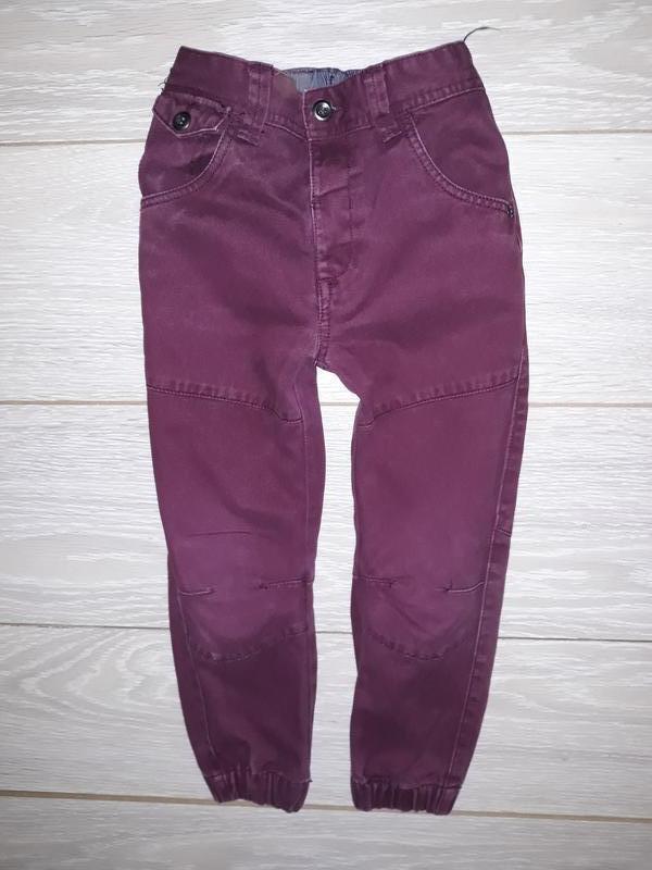 Джинсы-джоггеры-штаны matalan на 3-4 года