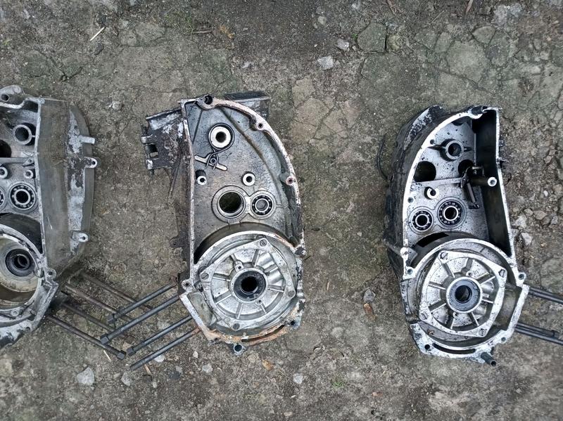Картера Двигателя с мотоцикла Иж Юпитер 6 вольт - Фото 7