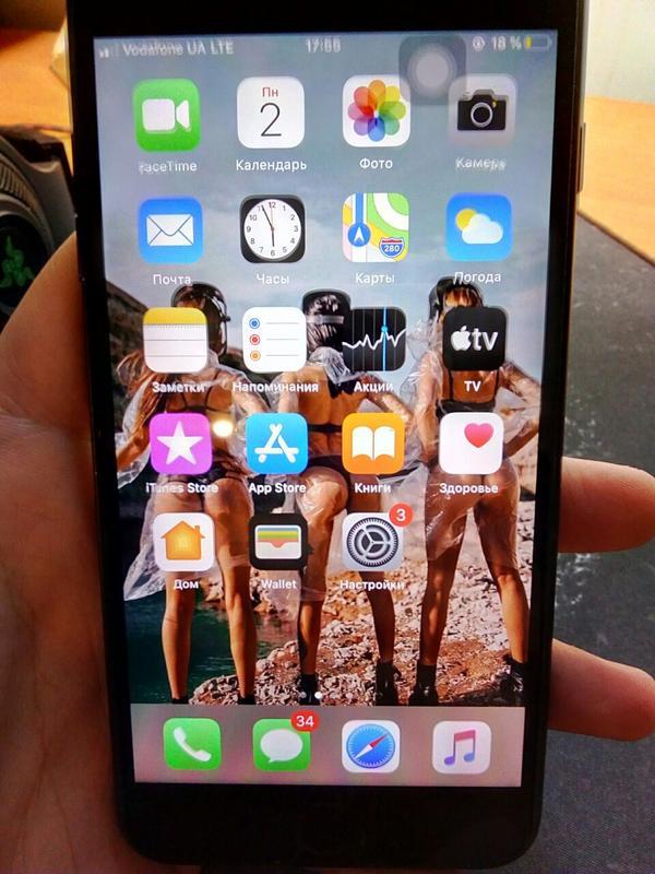 IPhone 7+128гб Never Lock(б/у—как новый) - Фото 2