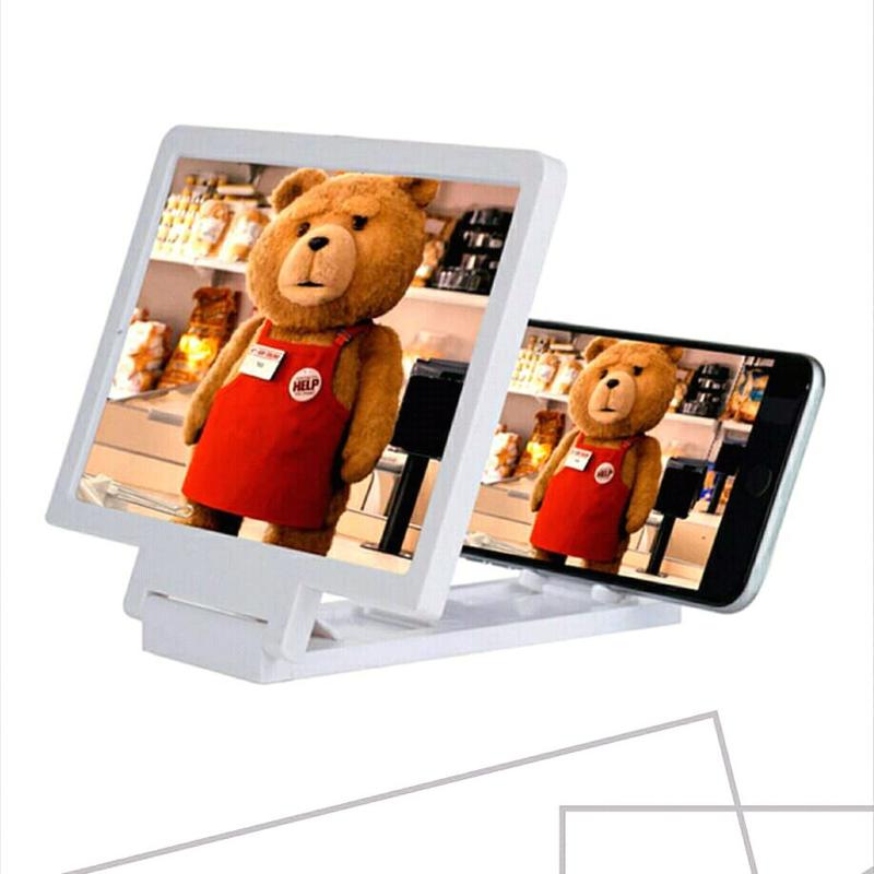 📱 3D Подставка-увеличитель экрана для смартфона📲