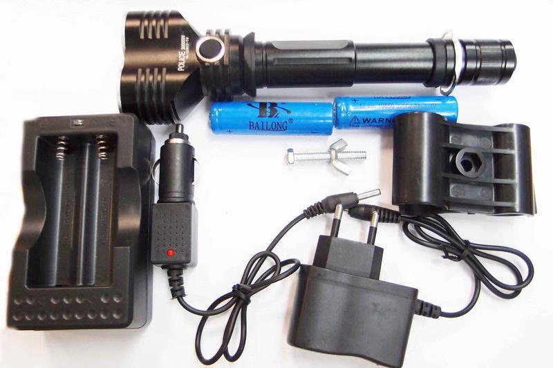 Подствольный фонарик Bailong BL-Q2822-2хXM-T6
