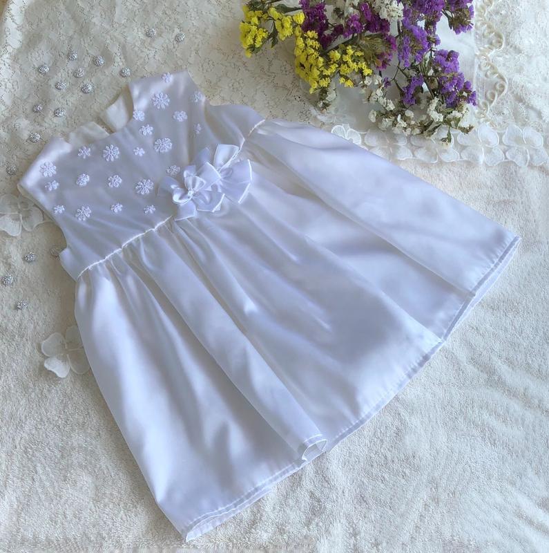 Эксклюзивное платье, платьице для крещения или торжества на 2-...