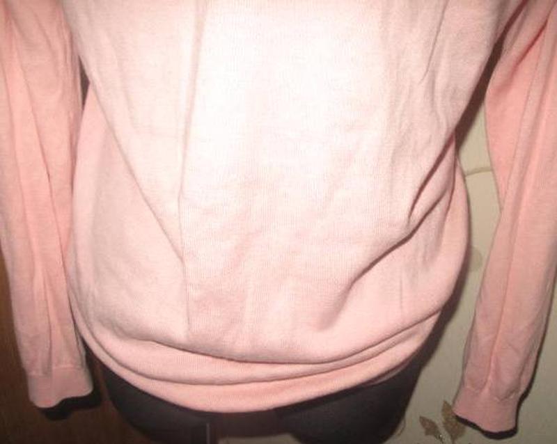 Легкий рожевий светрик sinsay m - Фото 5