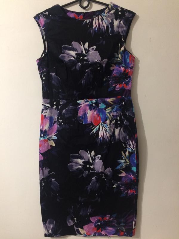 F&f платье сукня с цветочным принтом