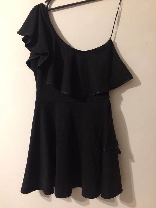 River island платье сукня на одно плечо - Фото 2