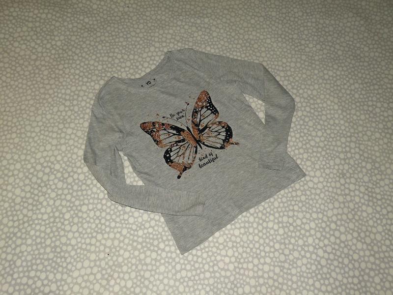 Реглан бабочка 8-9 лет