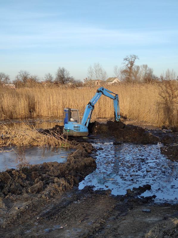 Очистка водоемов, береговой линии, копаем пруды, ставки, траншеи