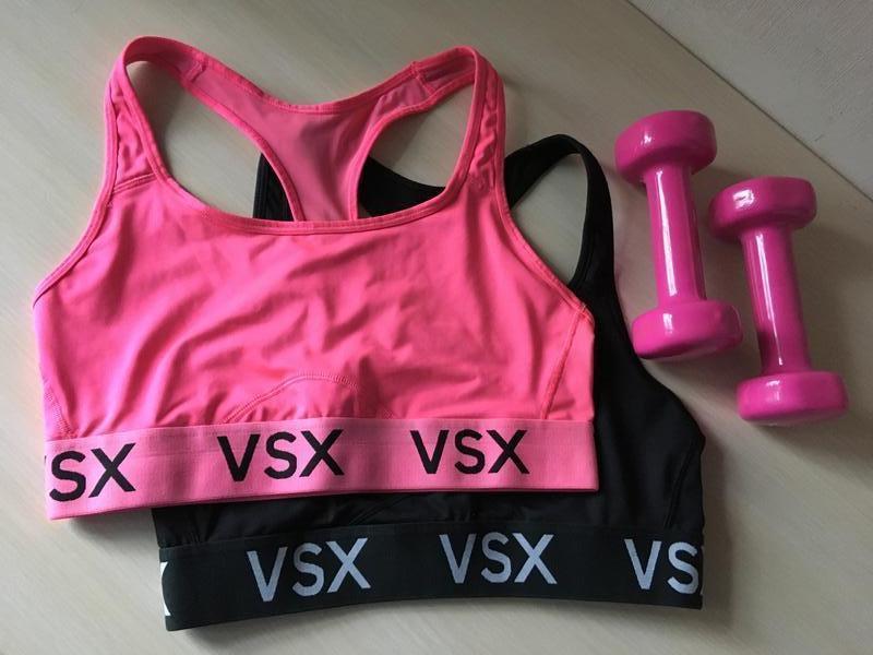 Victoria's secret спортивный топ vsx racerback sport bra