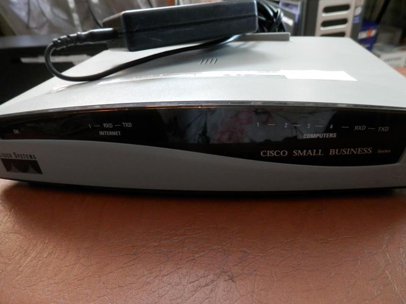 Маршрутизатор ADSL Router Cisco SOHO