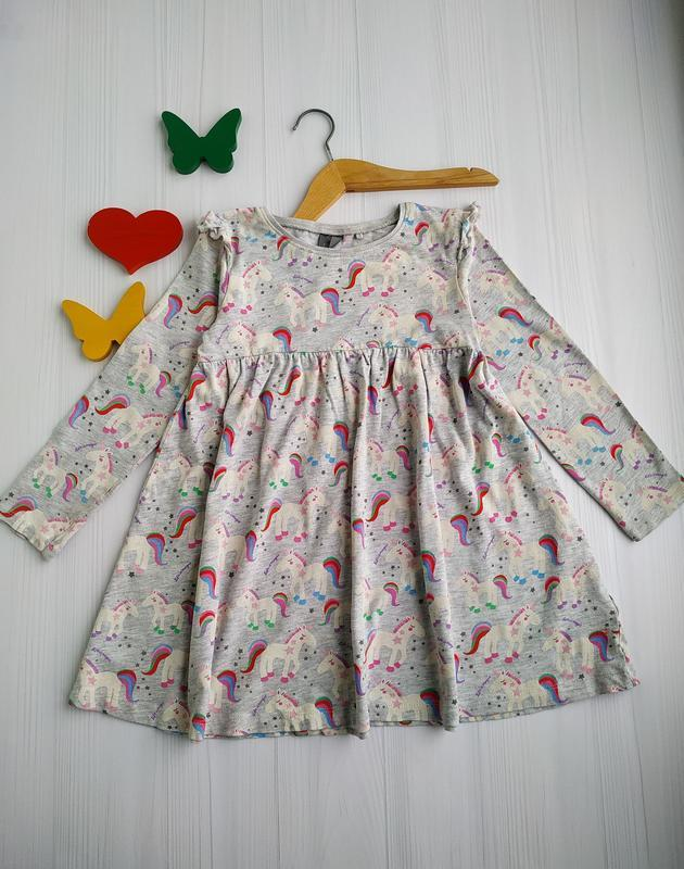 4-5 лет, платье,next