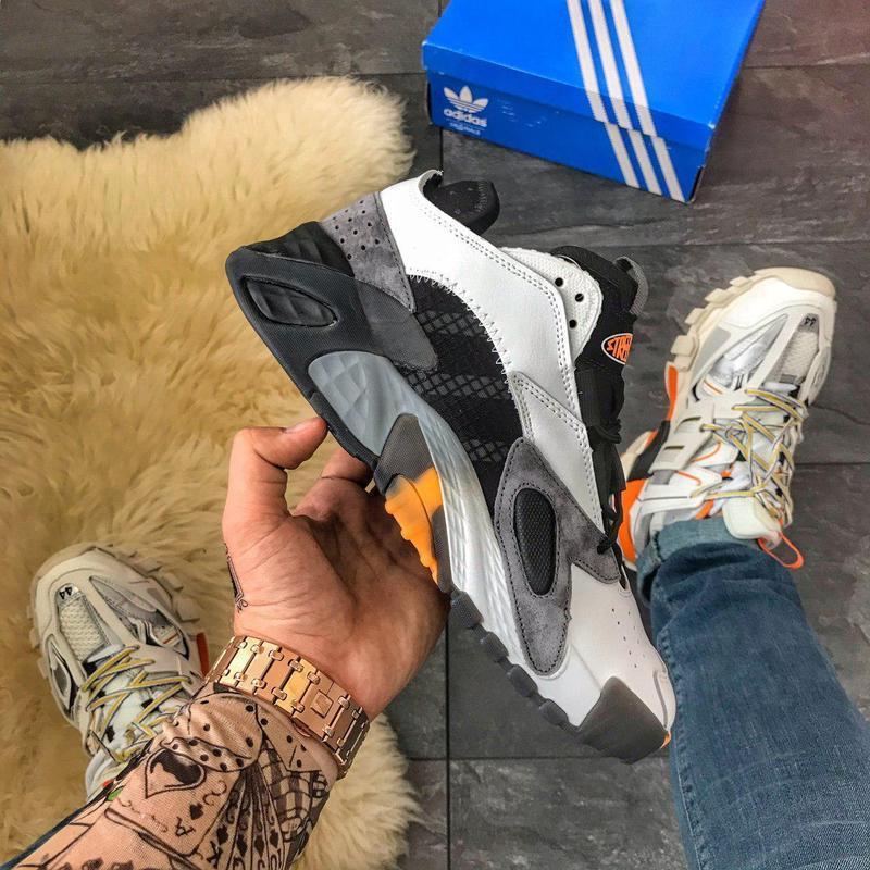 Adidas streetball black grey, мужские осенние/весенние/еврозим...