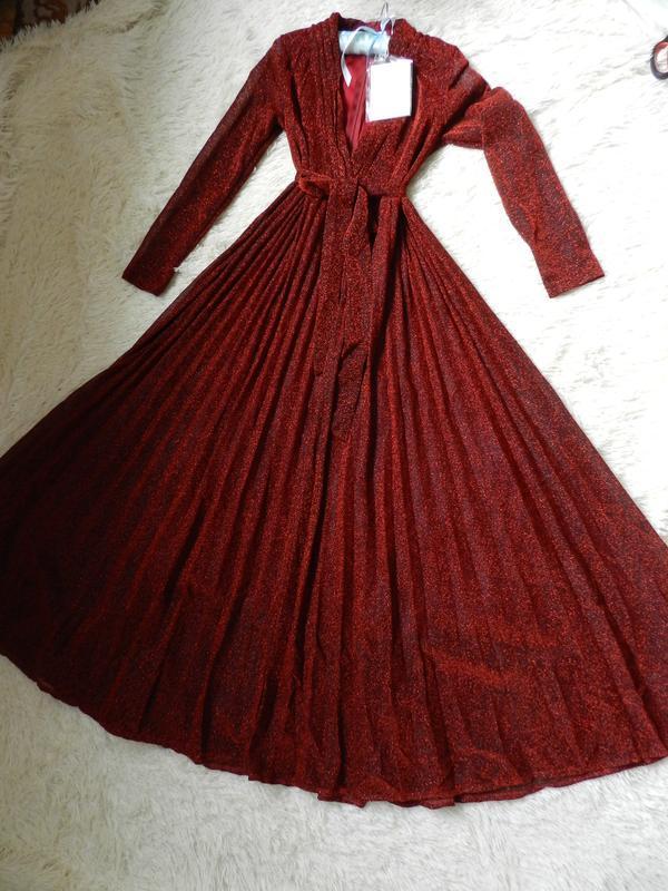 ✅ платье с люрексом