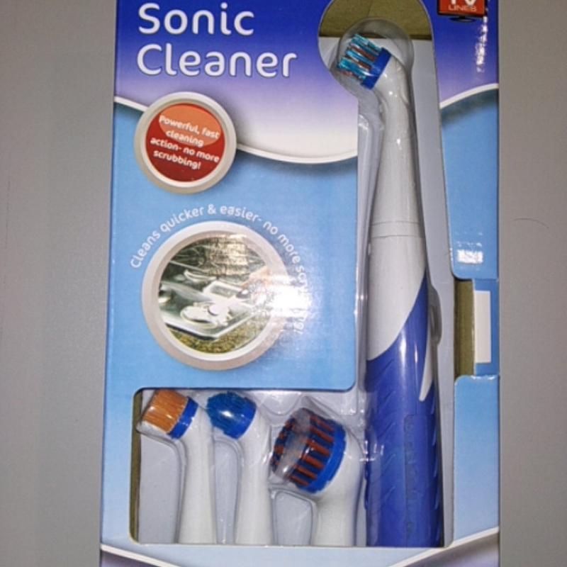 Автоматическая ультразвуковая щётка Sonic Cleaner (с 4-мя наса...