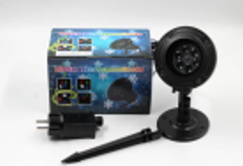 Диско LASER LIGHT SHOWER WITH STAND WL 602 лазерный проектор н...
