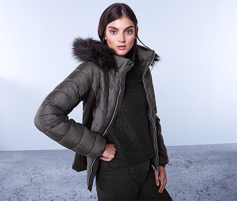 Лыжная стеганая куртка с пропиткой ecorepel от tcm tchibo, гер...