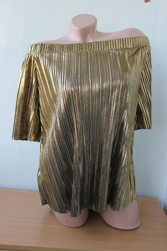 Нарядная блуза с открытыми плечами river island