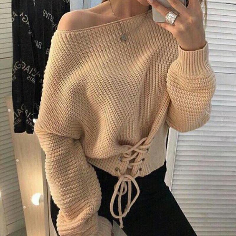 Кофта на завязках, свитер кроп