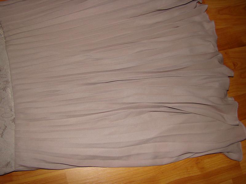 H&m платье кружевное, ажурное, плиссированное, плиссе - Фото 5
