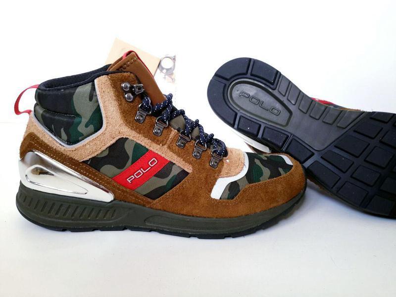 Мужские зимние ботинки именитого брэнда polo ralph lauren. евр...