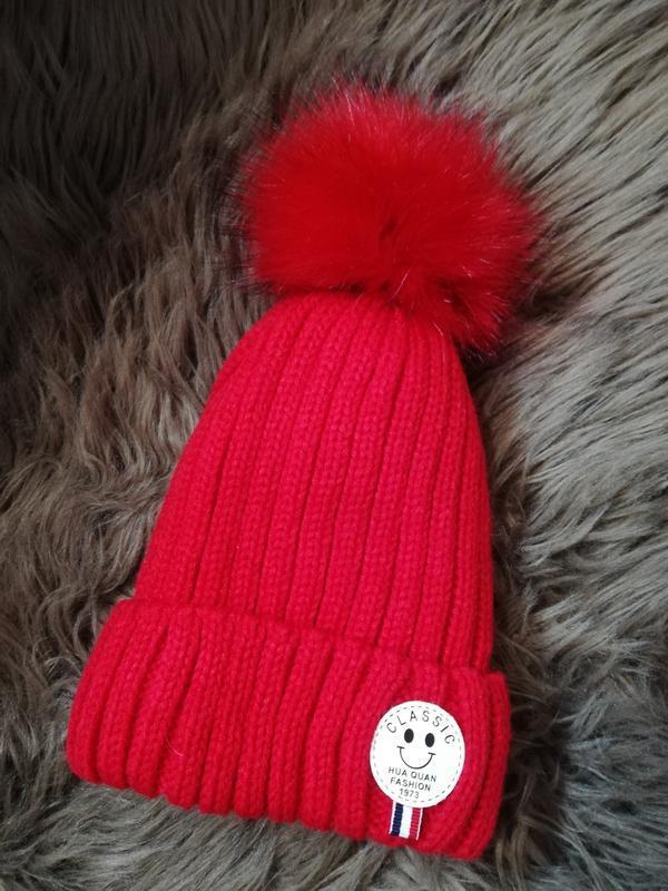 Шапка зимняя, детская шапка, женская шапка