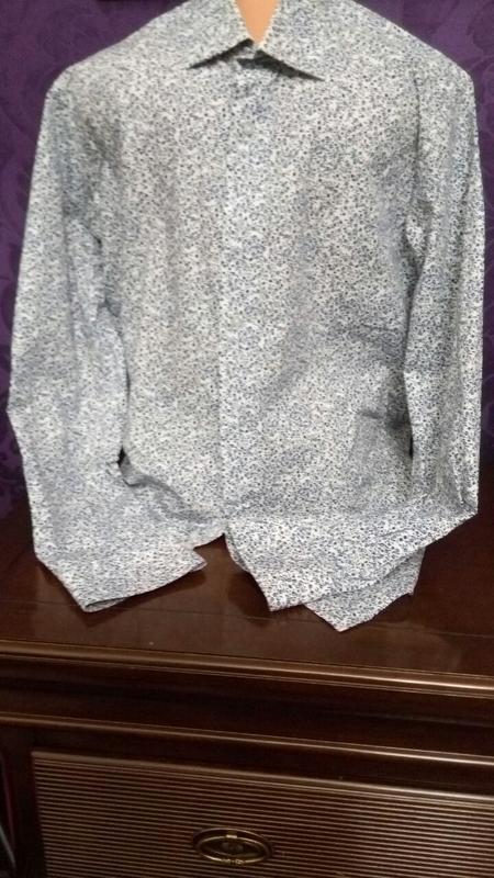 Трендовая мужская рубашка alessandro