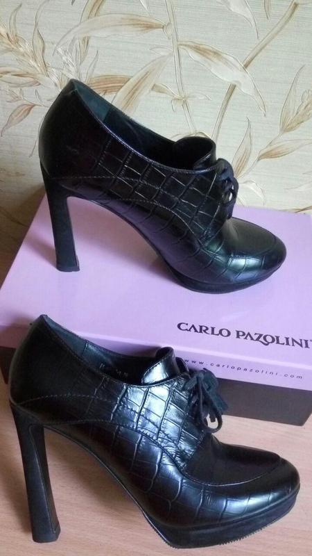 Туфли carlo pazzolini, натуральная кожа