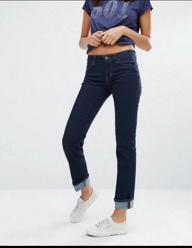 Женские темно синие плотные плямые джинсы средняя посадка зима...
