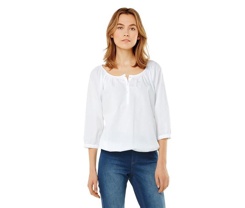 Модная и комфортная хлопковая блузка от tcm tchibo, германия