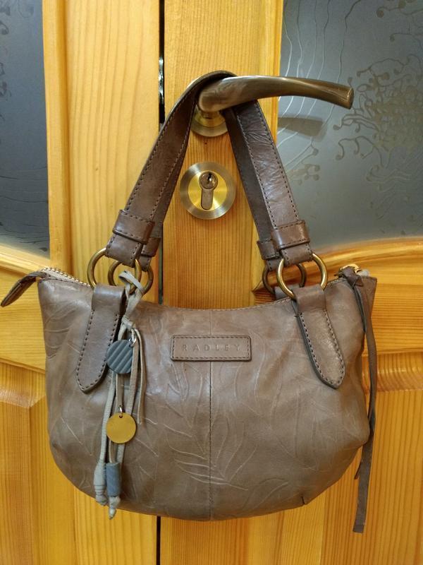 Компактная кожаная сумка radley
