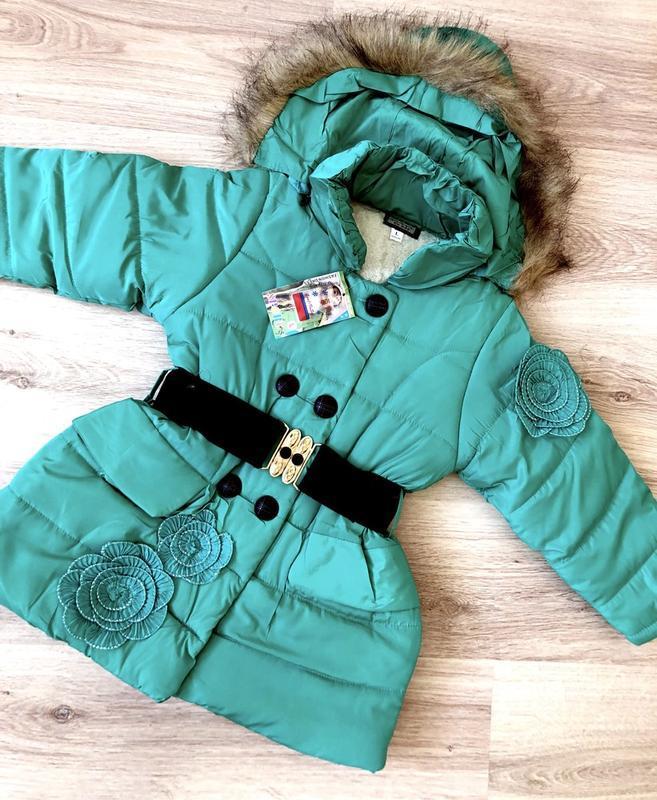 Очень красивая и нежная куртка! рост 116