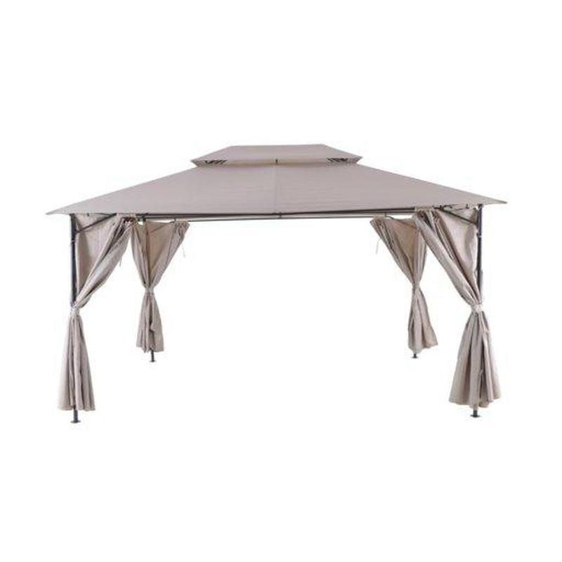 Дачный шатер павильон 3*4м белый