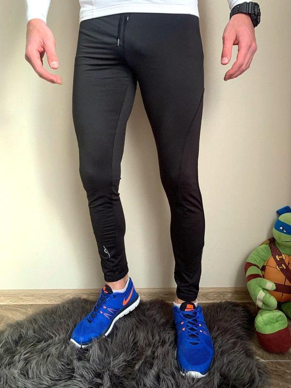 Шикарные мужские термо-лосины pro touch black 😍 (термо-штаны/ ...