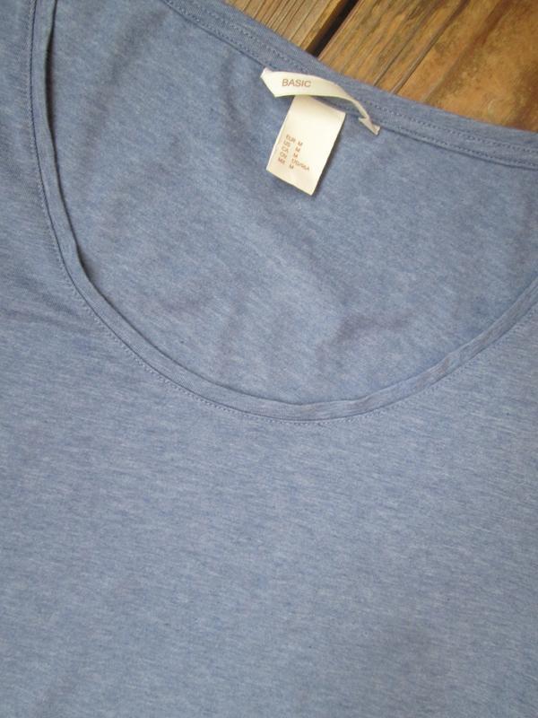 Базовая футболка h&m размер м/38 состояние идеальное - Фото 2